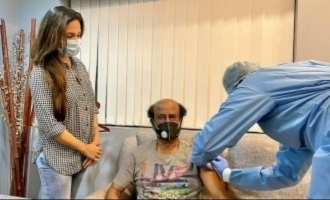 Superstar Rajinikanth gets vaccinated against COVID 19