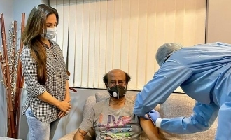 சென்னை வந்ததும் ரஜினிகாந்த் செய்த முதல் பணி: வைரல் புகைப்படம்