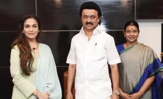 Soundarya Rajinikanth meet with Tamil Nadu Chief Minister MK Stalin! - Know why