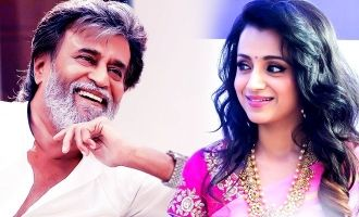 We hinted you its Official now! Trisha becomes Rajini's leading lady