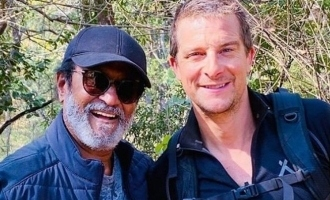 Rajini's strong reason for taking risk In the wild with Bear Grylls