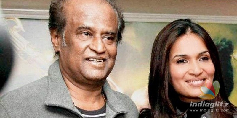 Soundarya Rajini shares emotional video of Thalaivars return from serious illness