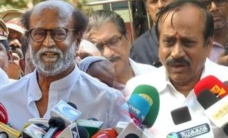 H Raja said about Rajinikanth Thuglak function speech