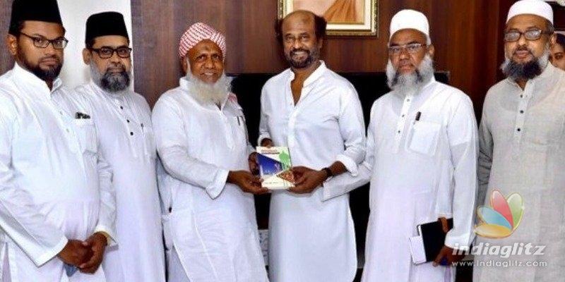 Superstar Rajinikanth meets Muslim religious leaders - details