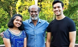 Superstar Rajinikanth's latest photos from the US make fans happy