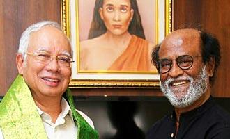 Malaysian Prime Minister Meets Superstar Rajinikanth