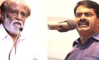 Seeman sudden support Rajinikanth politics