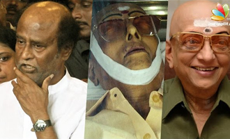 Rajinikanth & more at Cho Ramaswamy's Death