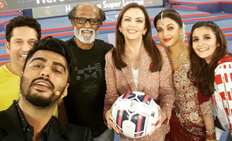 SUPER SELFIE: Rajinikanth, Aishwarya, Alia, Arjun clicked together