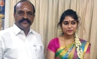 Minister Kadambur Raju congrats to Miga Miga Avasaram movie heroine Sripriyanka