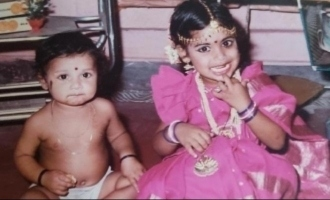 Can you recognize the famous Tamil TV star in this childhood photo?