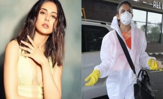 Rakul Preet Singh boards flight wearing PPE and shares the experience