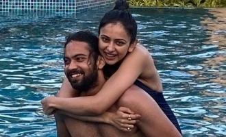Rakul Preet Singh's latest swimming pool photo with her Mowgli goes viral