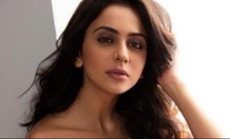 Rakul Preet Singh posts a scorching bikini photo to convey her current mood