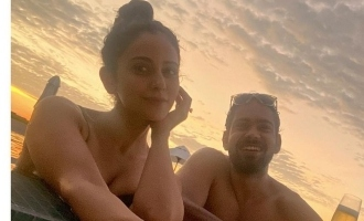 Rakul Preet Singh shares stunning bikini photos from Maldives holiday
