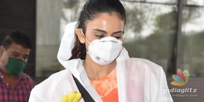 Rakul Preet Singh takes flight wearing PPE and shares the experience