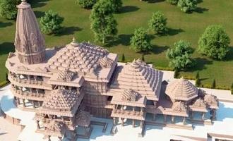 கட்டி முடிக்கப்பட்டவுடன் அயோத்தி ராமர் கோவில் எப்படி இருக்கும்? வைரலாகும் புகைப்படங்கள்