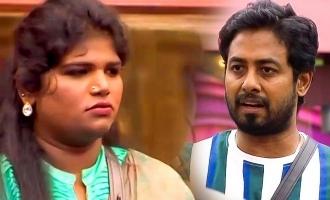 Bigg Boss 4 Nisha and Aari fight over provoking Ramesh!