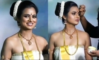 Ramya Pandian's sizzling photoshoot preparation video goes viral
