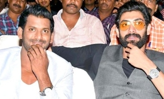 Rana Daggubati does it for Vishal!