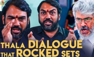 Thala Ajith's mass dialogue that rocked the sets - Rangaraj Pandey interview