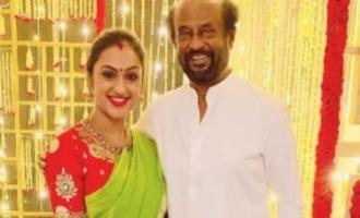 Superstar Rajinikanth's family celebrates Navarathri in style