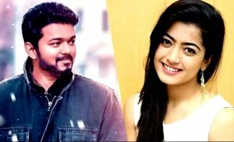 Rashmika Mandanna once again asserts her love for Thalapathy Vijay and hints starring with him