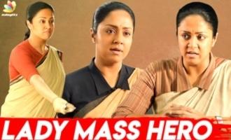 Jyothika's Bottle Breaking Scene I Raatchasi Making I Director & Poornima Bhagyaraj Interview