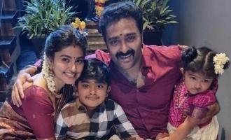 Smiling Queen Sneha's all things gorgeous Vinayagar Chaturthi celebration - A sneak peek