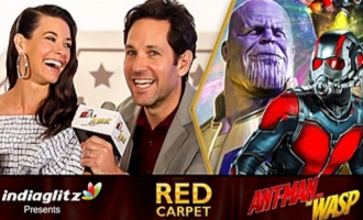 Where was ANT-MAN During Infinity War ? -  Paul Rudd, Evangeline Lilly