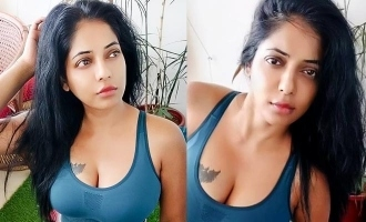 Actress Reshma Pasupuleti two piece workout video Bigg Boss 3
