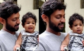 Rio Raj's emotional reunion with his baby girl after 'Bigg Boss 4'