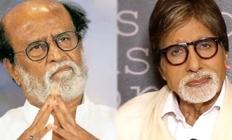 Rajnikanth and Amitabh Bachchan turn emotional on Rishi Kapoor's death!