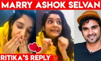 I Have a Crush on Ashok Selvan : Ritika Singh Speech