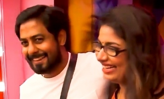 Biggboss Tamil season 4 Aari wife and child entered BB house