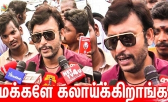 RJ Balaji Comedy Speech at Nadigar Sangam Elections 2019