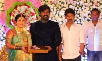 Celebrities attend actor-Producer R.K. Suresh's wife's baby shower function