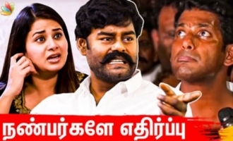 Why Vishal's own friends opposing him - R.K. Suresh interview