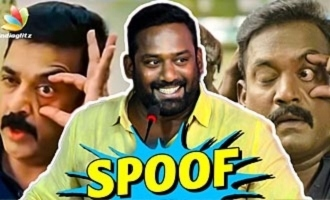 I'm a sincere POLICE officer: Robo Shankar Speech