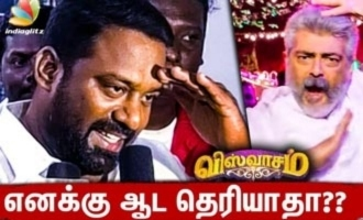 Robo Shankar Speech about Thala Ajith Dance