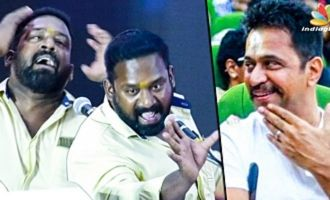 Robo Shankar Imitates Arjun : Funny Speech