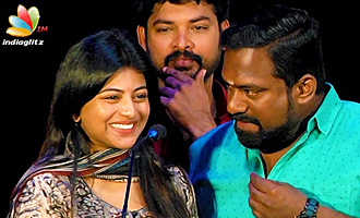 Roboshankar Sir, I am your Big Fan ! : Anandhi Speech