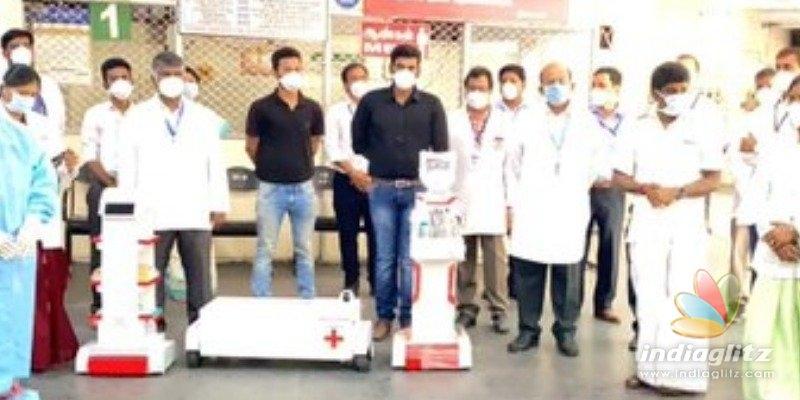 Robotic nurses tested in Chennai government hospital to combat coronavirus