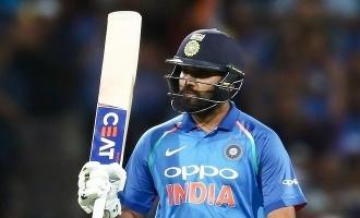 Rohit ton in vain, as Aussies win 1st ODI!