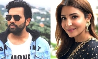 Anushka Sharma shares post  for Rohit Sharma