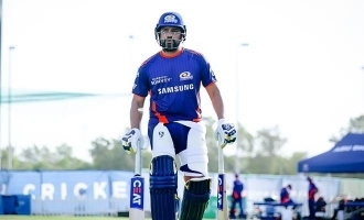 [VIDEO] Rohit Sharma's 95-metre six hits moving bus