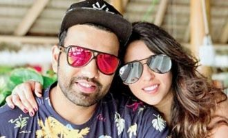 Rohit Sharma daughter first photo in viral