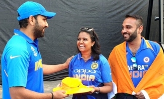 Rohit Sharma's gift to fan who got hit by his six