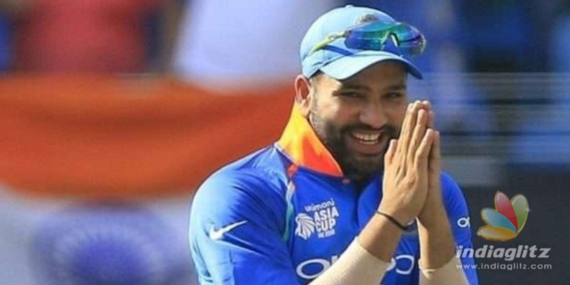 Oops! Rohit Sharma Makes a Mistake on Twitter, Trolls Begin