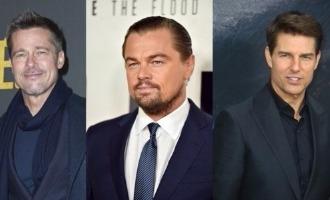 Whoa! Tom Cruise, Brad Pitt and Leonardo DiCaprio in the same movie